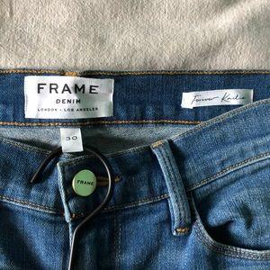 Frame Denim | Forever Karlie High Waisted Flare
